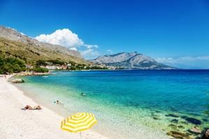 Pláž - Omiš