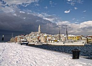 Zimní Chorvatsko